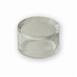 Acrylic Ring Egg Stand Clear 0.75