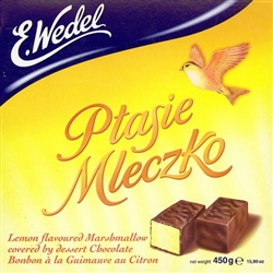 Ptasie Mleczko - Bird's Milk Chocolate - Lemon Flavor