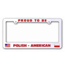 Polish Art Center Proud To Be Polish American License