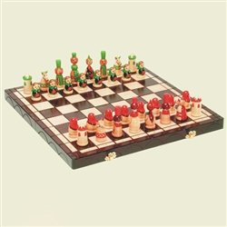 Babushki Polish Chess Set