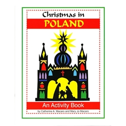 Christmas in Poland - A Book to Color