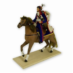 Thaddeus Kosciuszko On Horseback Traditional Polish Doll