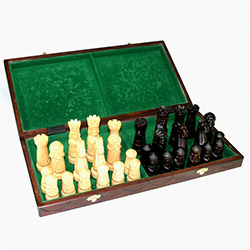 Castle Polish Chess Set -Small