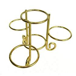4 Tier Egg Stand - Gold Color