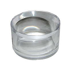 Acrylic Ring Egg Stand Clear 1.5