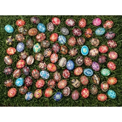 Polish Art Center Ukrainian Easter Eggs Jigsaw Puzzle