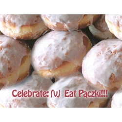 Paczki Note Card - Definition