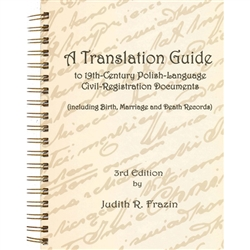 A Translation Guide to 19th Century Polish-Language Civil-Registration Documents