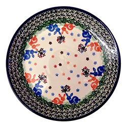 sc 1 st  Polish Art Center & Polish Art Center - Polish Stoneware Dinner Plate