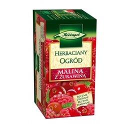Herbapol Raspberry Herbal Tea with Cranberry - Malina Herbata z Zurawina