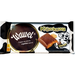 Wawel Milk Chocolate Bar With Krówki Filling (100g)