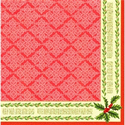 Polish Christmas Luncheon Napkins (package of 20) - 'Classic Christmas'