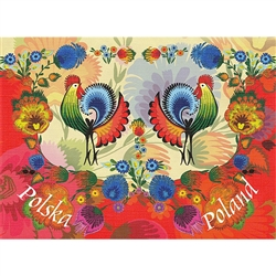"""Bountiful Greetings"" Note Card And Envelope"