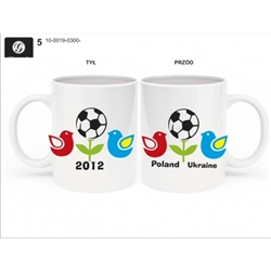 Euro 2012 Commemorative Ceramic Mug