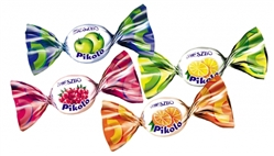 Mieszko Pikolo Mini Fruit Hard Candies - 5.5lbs - 2.5kg Box