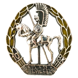 10th Regiment Of Dragoons Lapel Pin (Hussar)