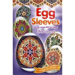 Polish Art Center Eeaster Egg Sleeves Ornament Set Of 7