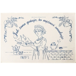 Embroidery Towel: Tapestry Of Polish Folk Wisdom