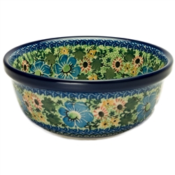 Unikat Polish Pottery Stoneware Cereal/Berry Bowl - U2198