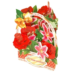 3D Greeting Card, Multiple Occasion