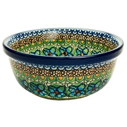 Unikat Polish Pottery Stoneware Cereal/Berry Bowl - U151