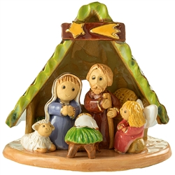 Artistic Ceramic Nativity 4