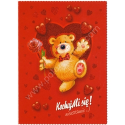 Polish Valentine Greeting Card