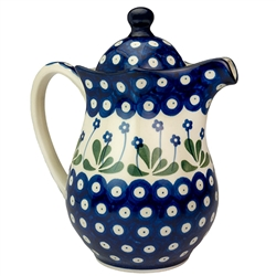 Polish Pottery Stoneware Pitcher .9L