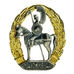 10th Regiment Of Dragoons Lapel Pin (Hussar) 1.5