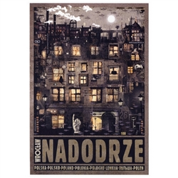 Post Card: Wroclaw Nadodrze, Polish Promotion Poster