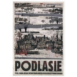Post Card: Podlasie, Polish Promotion Poster