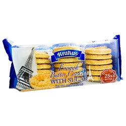Krakus French Butter Cookies With Sugar 10.37oz/294g