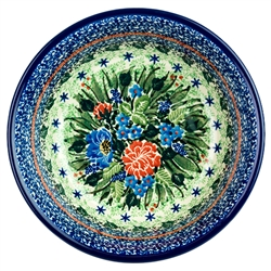 Unikat Polish Pottery Stoneware Cereal/Berry Bowl U3977
