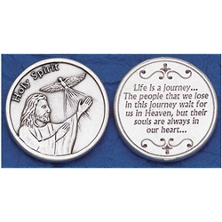 Holy Spirit, consoling Pocket Token (Coin)