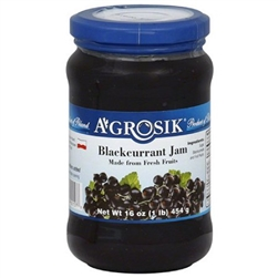 Agrosik Blackcurrant Jam 454g/16oz.