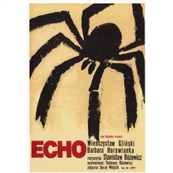 Post Card: Echo, Polish Movie Poster