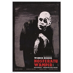 Post Card: Nosferatu Wampir, Polish Movie Poster