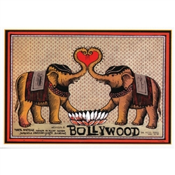 Post Card: Bollywood, Polish Film Poster