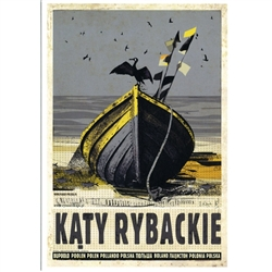 Post Card: Katy Rybackie, Polish Promotion Poster