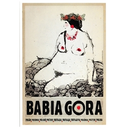 Post Card: Babia Gora, Polish Promotion Poster