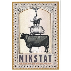 Post Card: Mikstat, Polish Promotion Poster