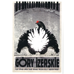 Post Card: Gory Izerskie, Polish Promotion Poster