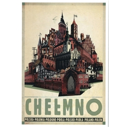 Post Card: Chelmno, Polish Promotion Poster