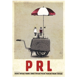 Post Card: PRL, Polish Promotion Poster