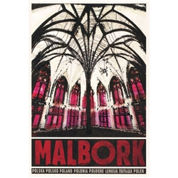Post Card: Malbork, Polish Promotion Poster