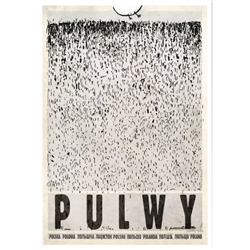 Post Card: Pulwy, Polish Promotion Poster