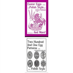 Easter Eggs Polish Style And Two Hundred One Egg Patterns