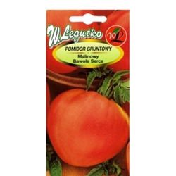 Polish Art Center Tomato Seeds Raspberry Ox Heart Pomidor